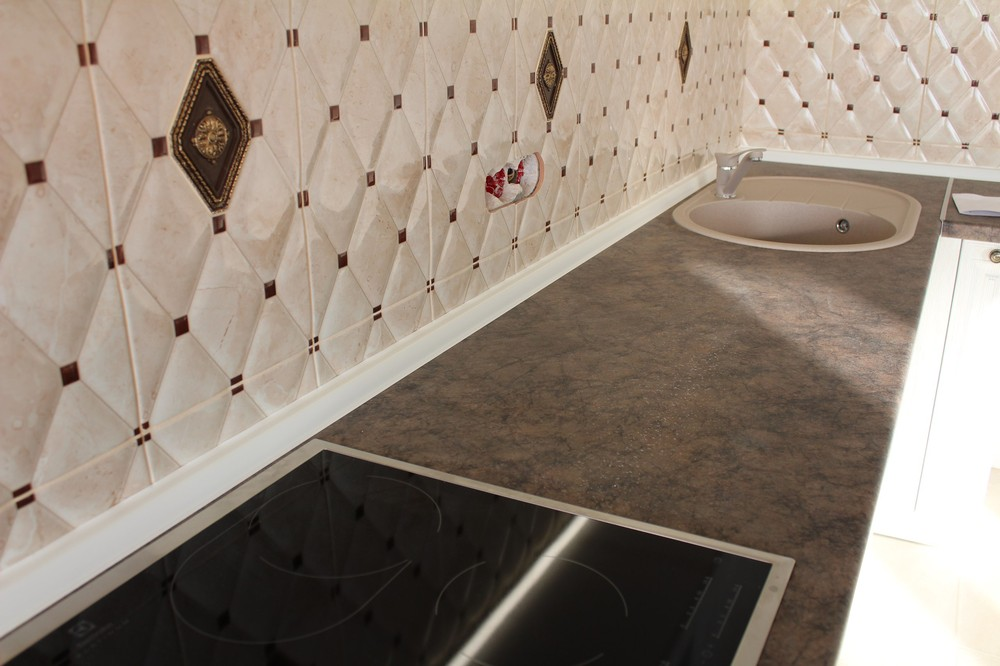 Белый кухонный гарнитур-Кухня МДФ в ПВХ «Модель 292»-фото5