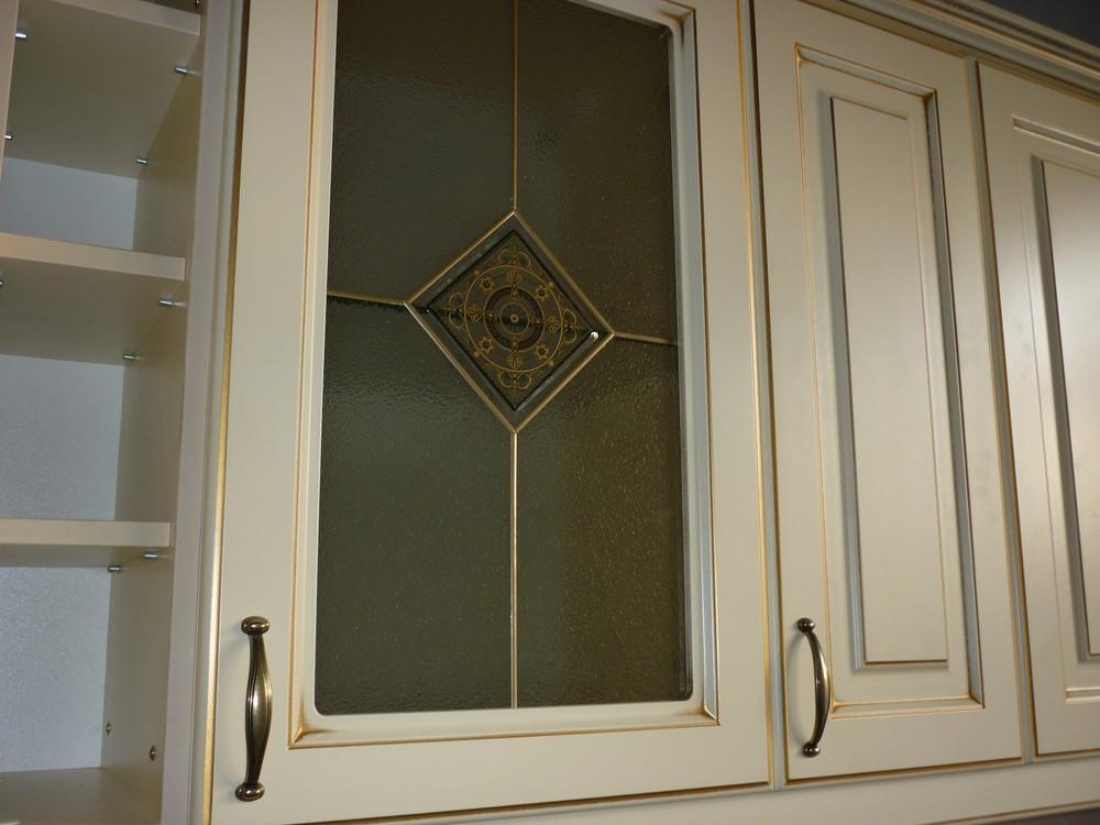 Белый кухонный гарнитур-Кухня из массива «Модель 234»-фото1