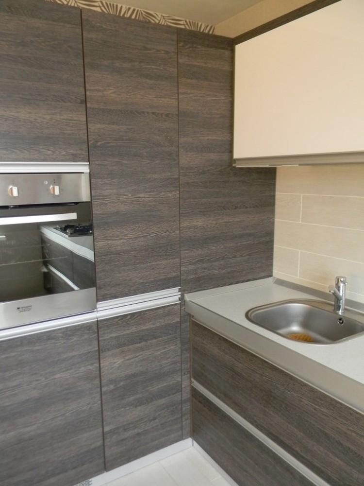 Акриловые кухни-Кухня из пластика «Модель 236»-фото3