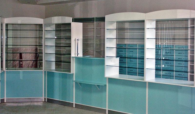 Торговая мебель-Мебель для аптеки «Модель 187»-фото3