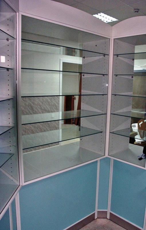 Торговая мебель-Мебель для аптеки «Модель 187»-фото5