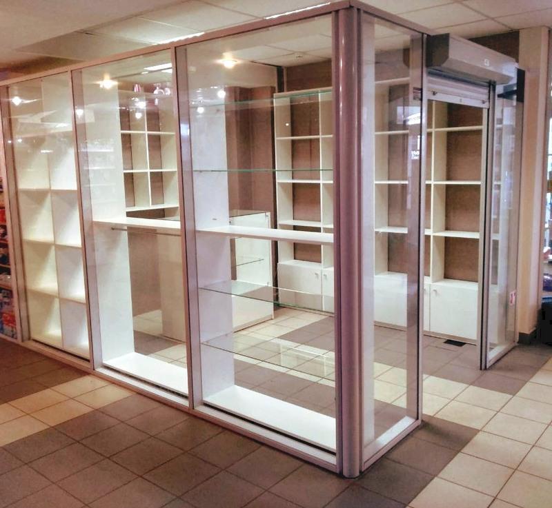 Торговая мебель-Мебель для магазина «Модель 39»-фото1