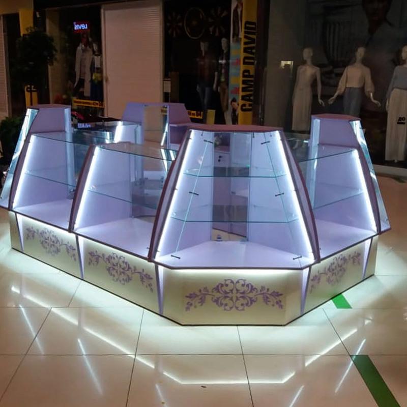 Торговая мебель-Торговый островок «Модель 232»-фото1
