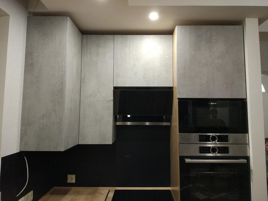Встроенная кухня-Кухня из пластика «Модель 450»-фото4
