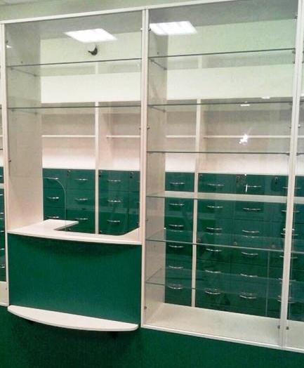 -Мебель для аптеки «Модель 188»-фото6