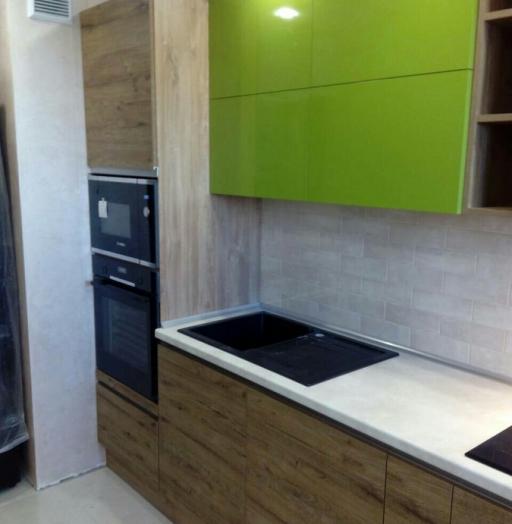 -Кухня из пластика «Модель 379»-фото28
