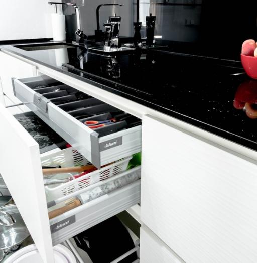 -Кухня из пластика «Модель 343»-фото30