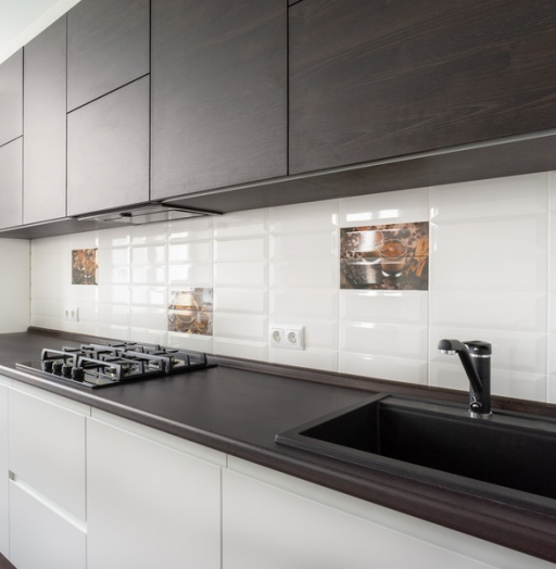-Кухня МДФ в эмали «Модель 6»-фото1
