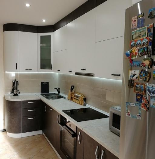 -Кухня МДФ в ПВХ «Модель 27»-фото5