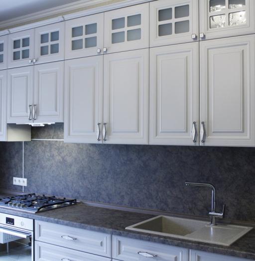 -Кухня МДФ в ПВХ «Модель 147»-фото5