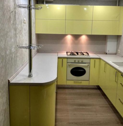 -Кухня МДФ в эмали «Модель 163»-фото16