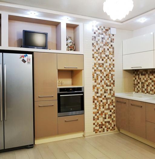 -Кухня из акрила «Модель 298»-фото22