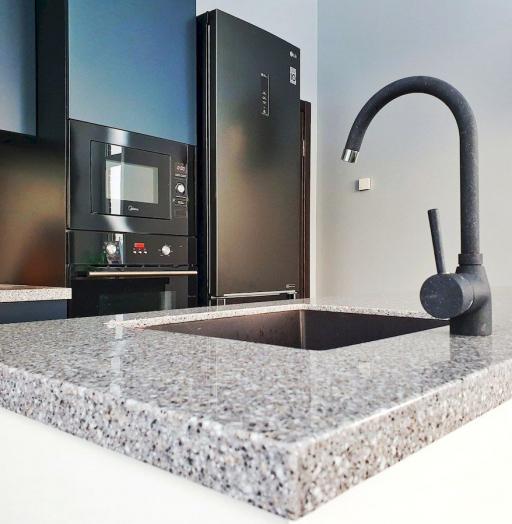 -Кухня МДФ в эмали «Модель 557»-фото29